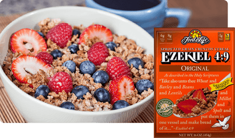 Ezekiel Sprouted Whole Grain Cereal Original 454g