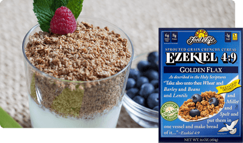 Ezekiel Sprouted Whole Grain Cereal Golden Flax 454g