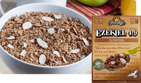 Ezekiel Sprouted Whole Grain Cereal Almond 454g