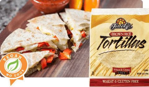 Brown Rice Tortillas Wheat & Gluten Free 340g