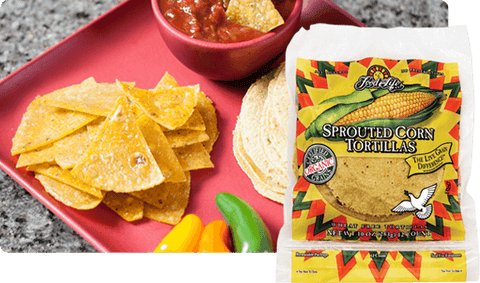 Organic Sprouted Whole Corn Tortillas 320g
