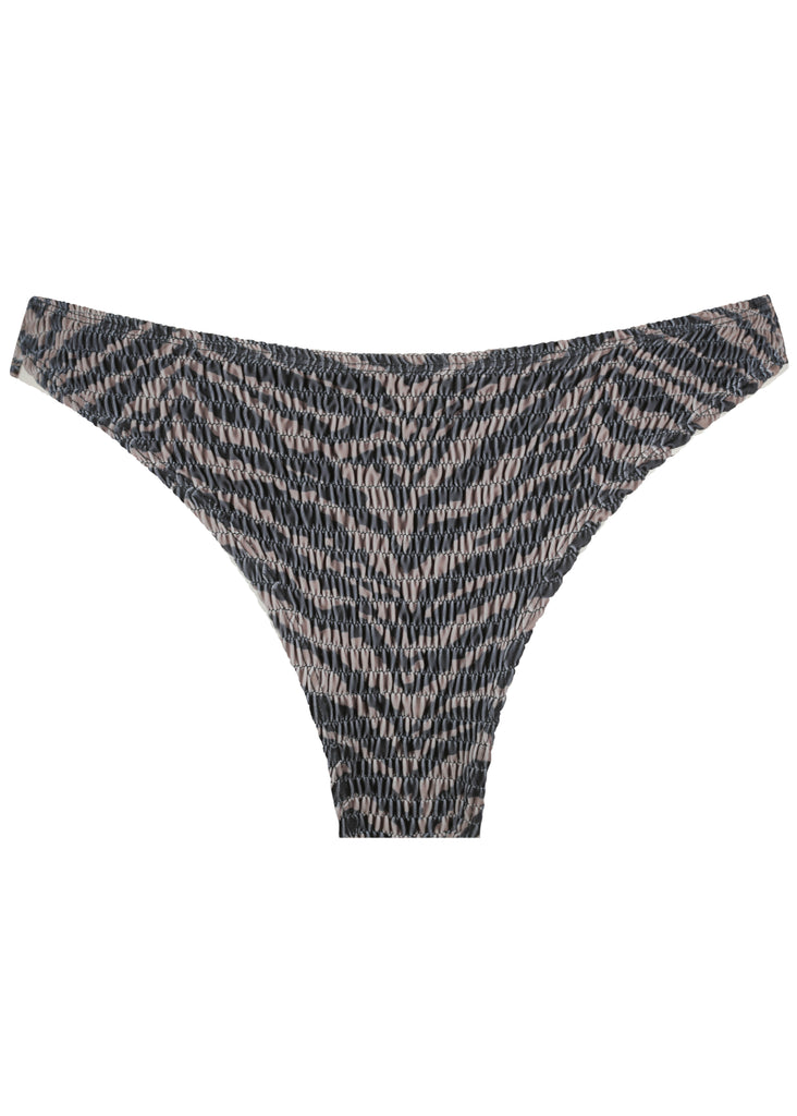 Savannah Shirring Bottom - Zebra