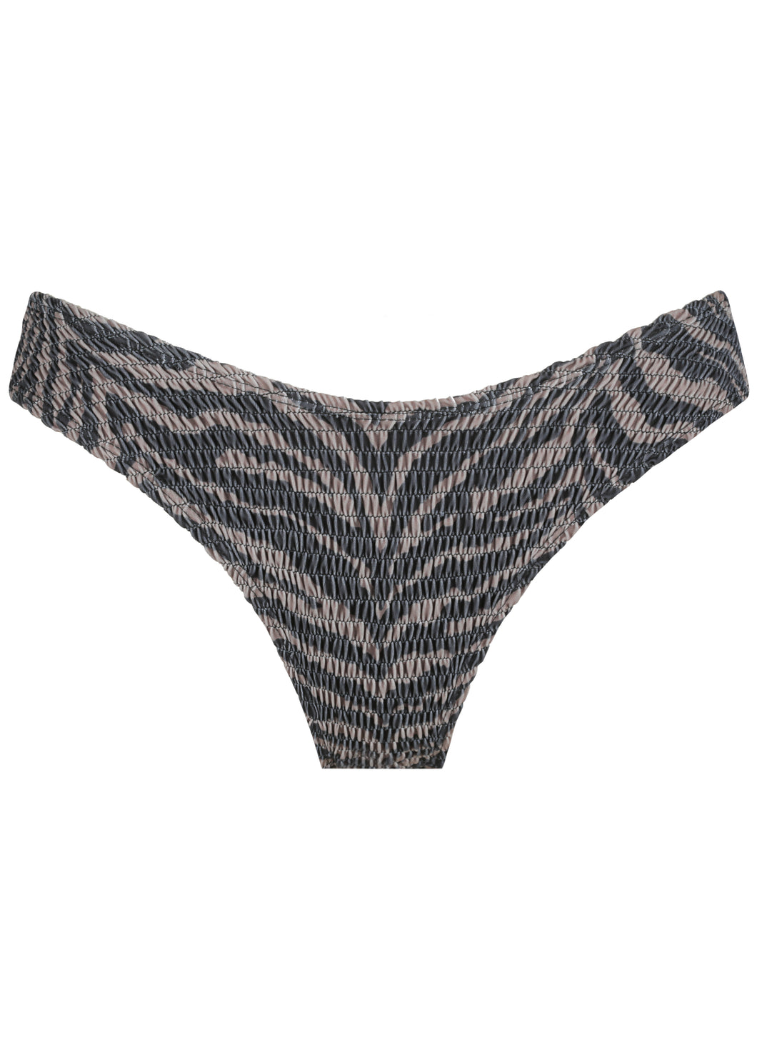 Twiggy Shirring Bottom - Zebra