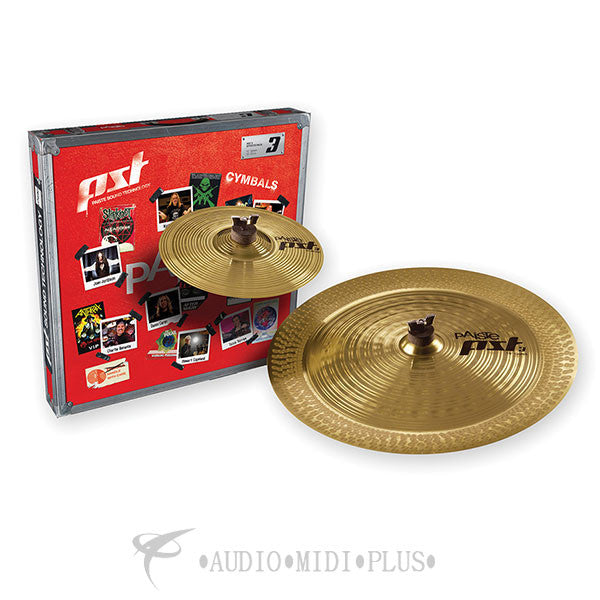 Paiste Pst 3 Effects Cymbal Pack (10/18) - 063FXPK-U