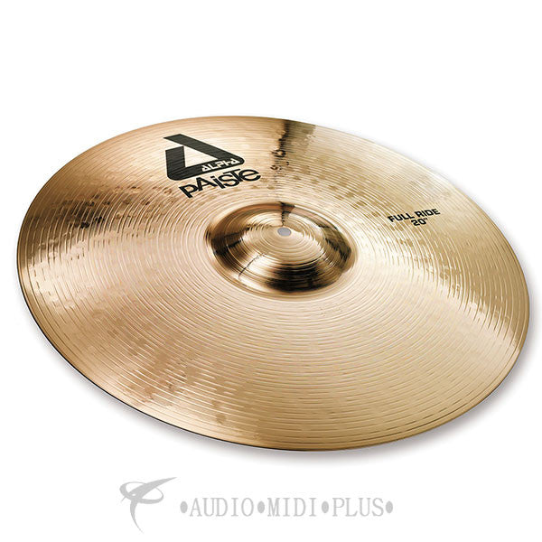 "Paiste 20"" Alpha B Full Ride Cymbals - 0881620-U"