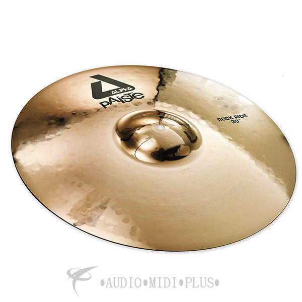 "Paiste 20"" Alpha B Rock Ride Cymbals - 0882720-U"