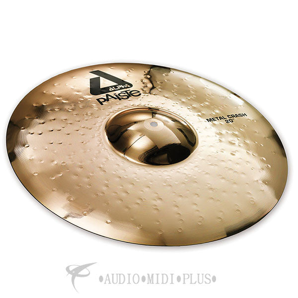 "Paiste 20"" Alpha B Metal Crash Cymbals - 0882920-U"