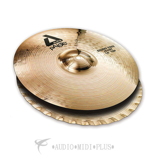 Paiste 14 Alpha Sound Edge Hi-Hat Cymbal - 0883114-U