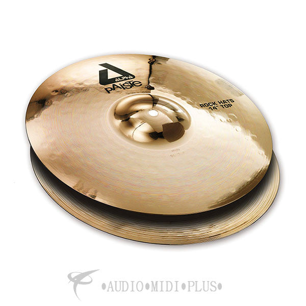 "Paiste 14 Alpha ""B"" Series Rock Hats Cymbal - 0883414-U"
