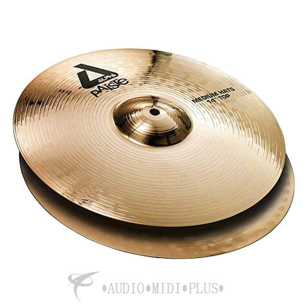 Paiste 14 Alpha 'B' Medium Hats Top Cymbals - 0883814-U