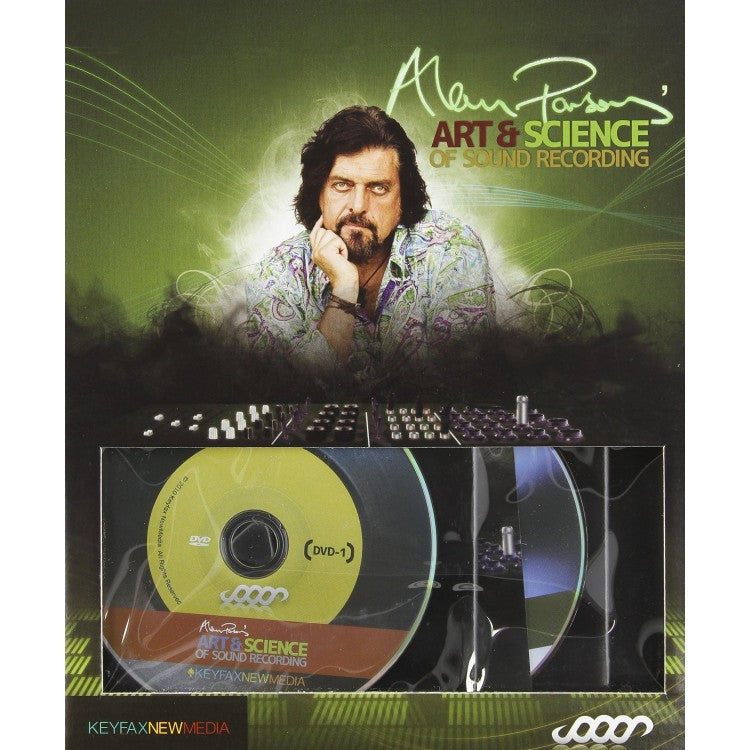Hal Leonard Alan Parsons - Art And Science of Sound Recording DVD Set - 00631668