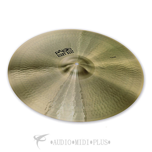 Paiste 20 Giant Beat Thin Cymbal - 1011220-U