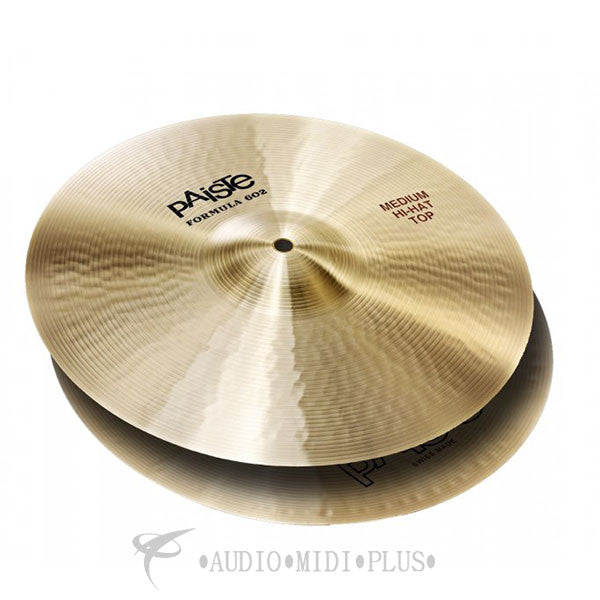Paiste 14 Formula 602 Classic Sounds Medium Hi-Hat Top Cymbal - 1043814-U