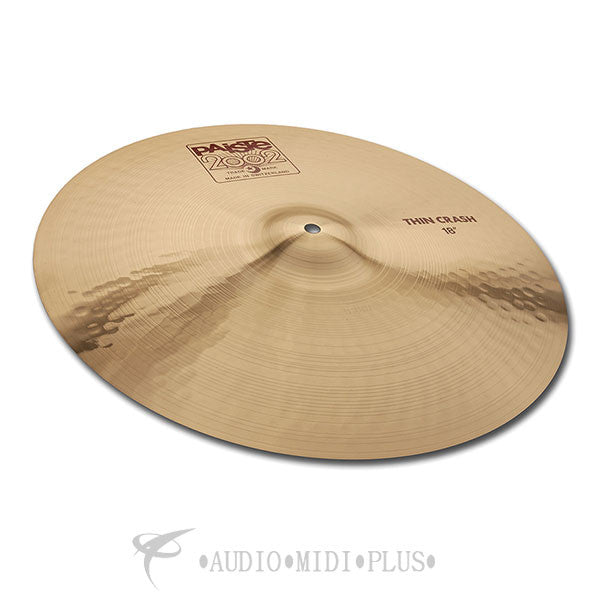Paiste 16 2002 Thin Crash Cymbal - 1061216-U