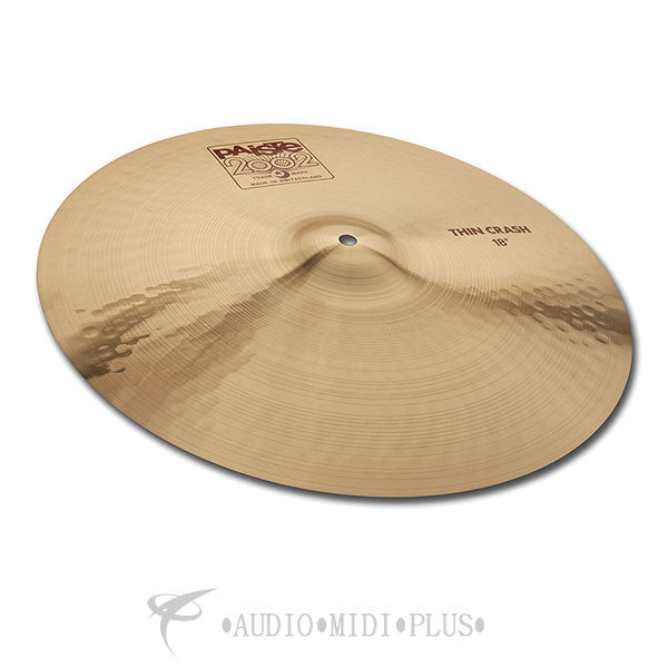 Paiste 18 2002 Thin Crash Cymbal - 1061218-U