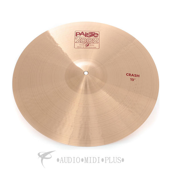 "Paiste 19"" 2002 Crash Cymabals -1061419-U"