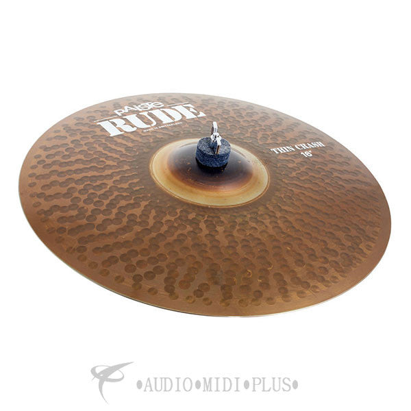 Paiste 16 Rude Thin Crash Cymbal - 1121216-U
