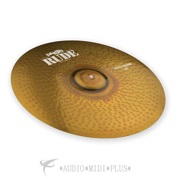 Paiste 20 Rude Thin Crash Cymbal - 1121220-U