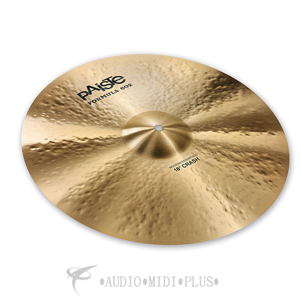 Paiste 18 Formula 602 Modern Essentials Crash Cymbal - 1141418-U