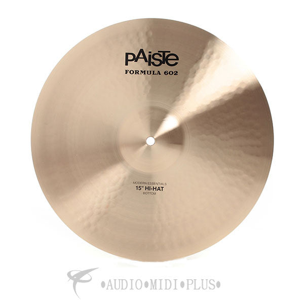 Paiste Formula 602 Modern Essentials Hi-Hat Bottom Cymbal - 1143915-U