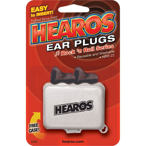 Hearos 309 Rock N Roll Ear Plugs - 309