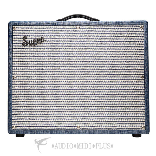 Supro Rhythm Master 1x15 Tremolo/Verb Tube Combo Amplifier - 1675RT-U