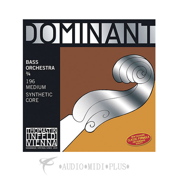 Thomastik Dominant 3/4 Double Bass Solo String Set - 197-U