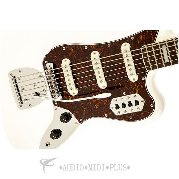 Fender Squier Vintage Modified Rosewood Fingerboard 6 Strings Electric Bass Guitar Olympic White - 0 305600505 - 885978322442