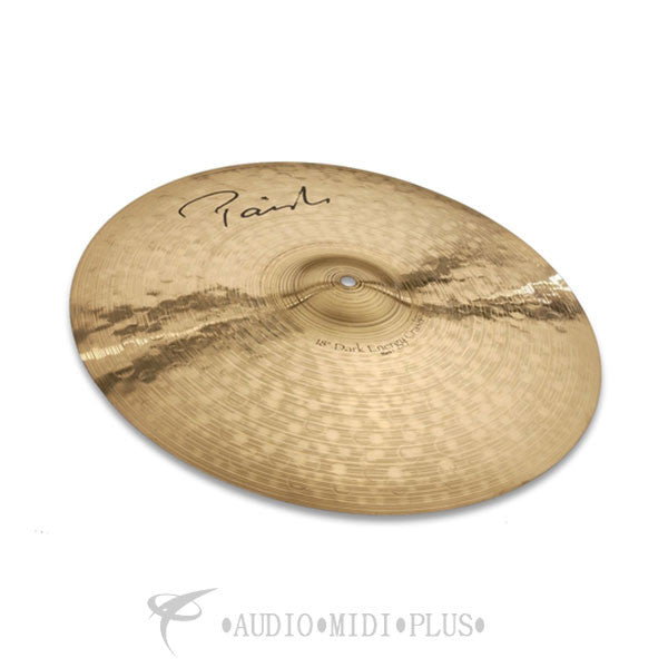 Paiste 18 Signature Dark Energy Crash Mark I Cymbal - 4801418-U