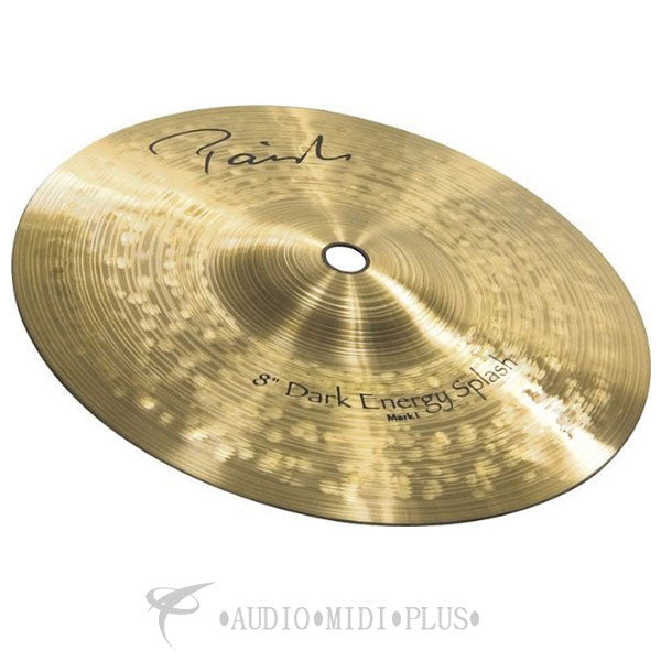 "Paiste 8"" Signature Dark Energy Splash Mark I Cymbal - 4802208-U"