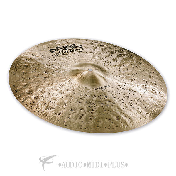 Paiste 20 Masters Dark Ride Collection Cymbal - 5507020-U