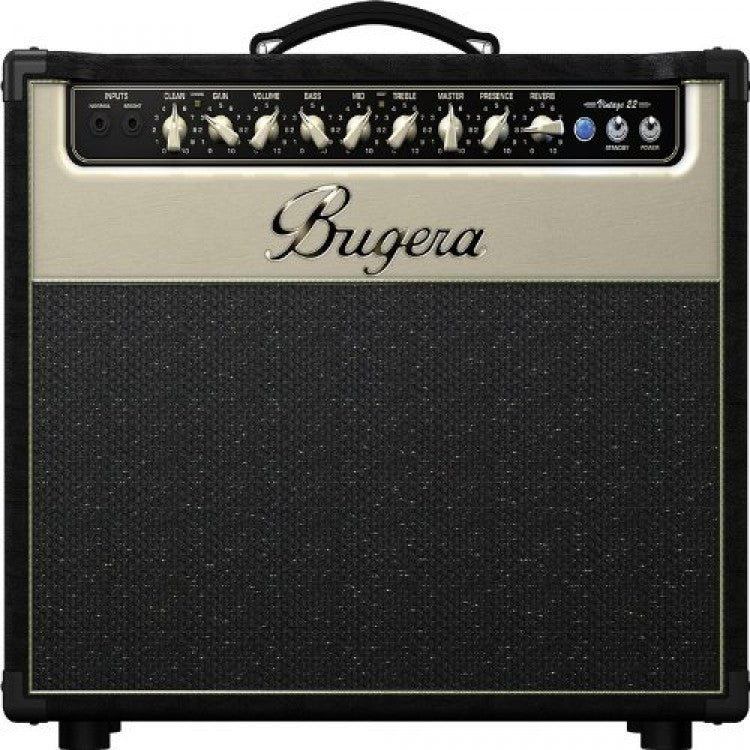 Bugera V22 22-Watt Vintage 2-Channel Valve Combo with Reverb