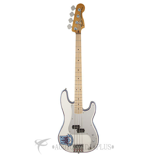 Fender Steve Harris Precision Maple FB Electric Bass Olympic White - 0141032305 - 885978471522