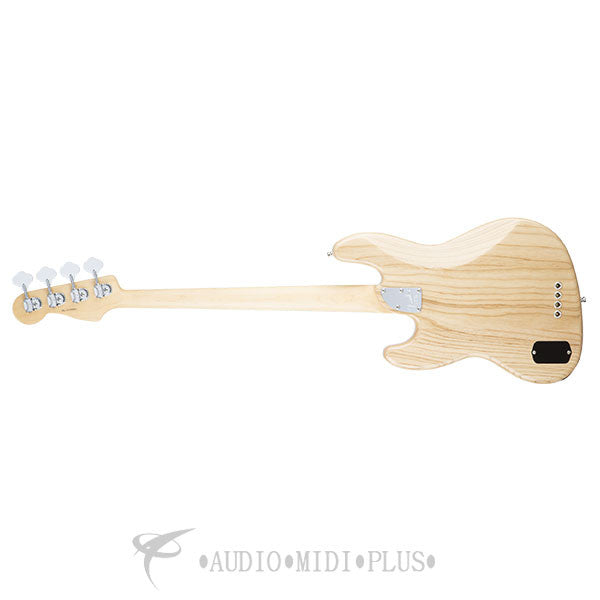 Fender American Elite Jazz Maple Fingerboard Electric Bass Natural - 0197002721 - 885978649891