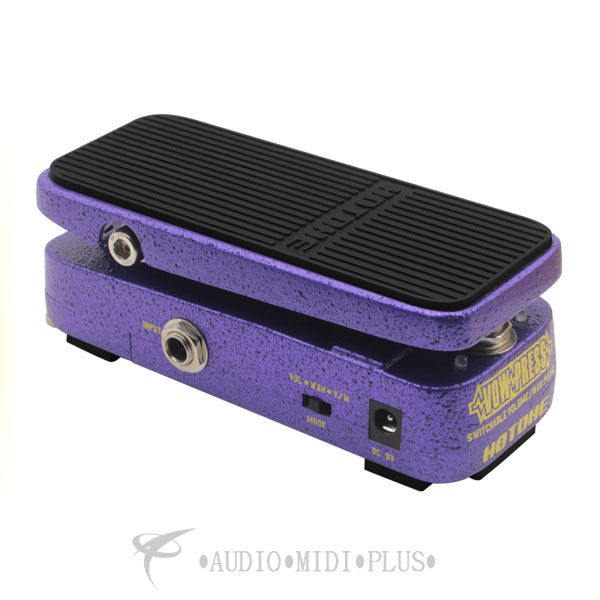 Hotone Bass Press Volume Wah Expression Effects Pedal - TPVWPRESS - 888506040047