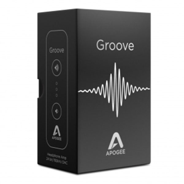 Apogee Groove Portable USB DAC and Headphone Amplifier for Mac and PC - GROOVE - 805676301419