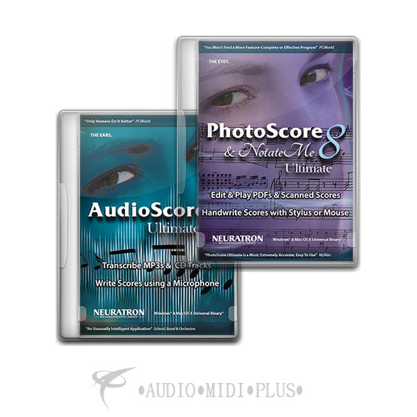 Sibelius Photoscore & Notateme Ultimate And Audioscore Ultimate 8 - 99006568100 - 888680102418