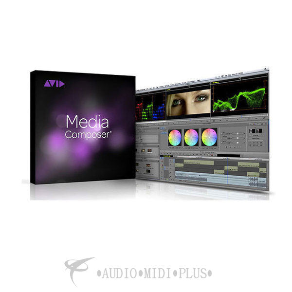 Avid Media Composer Academic Edition Software - 99356568700 - 724643118136