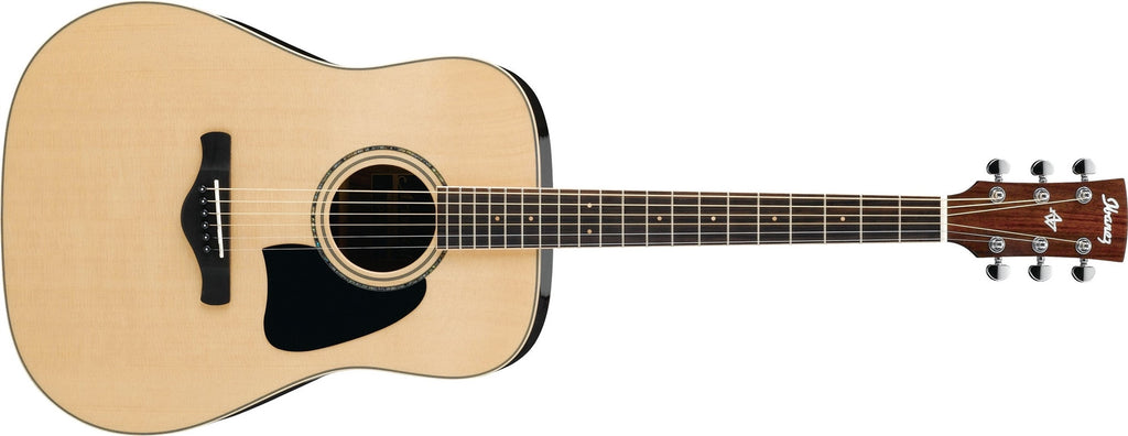 Ibanez AW535NT Artwood Solid Top Dreadnought Acoustic Guitar - Gloss Natural