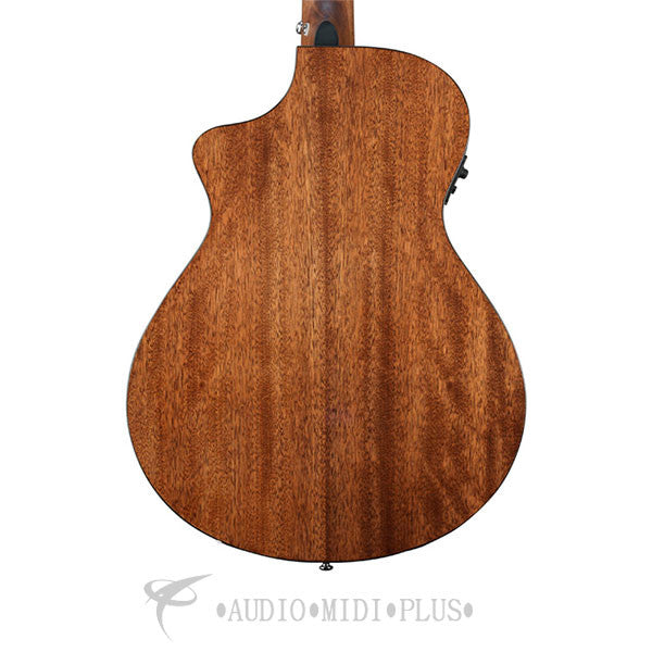 Breedlove Discovery Concert CE Rosewood Fretboard 6 String Acoustic Electric Guitar Natural - DSCN01CESSMA - 875934006233