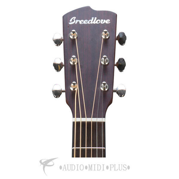 Breedlove Discovery Dreadnought CE Rosewood Fretboard 6 String Acoustic Electric Guitar - DSDR01CESSMA - 875934006226