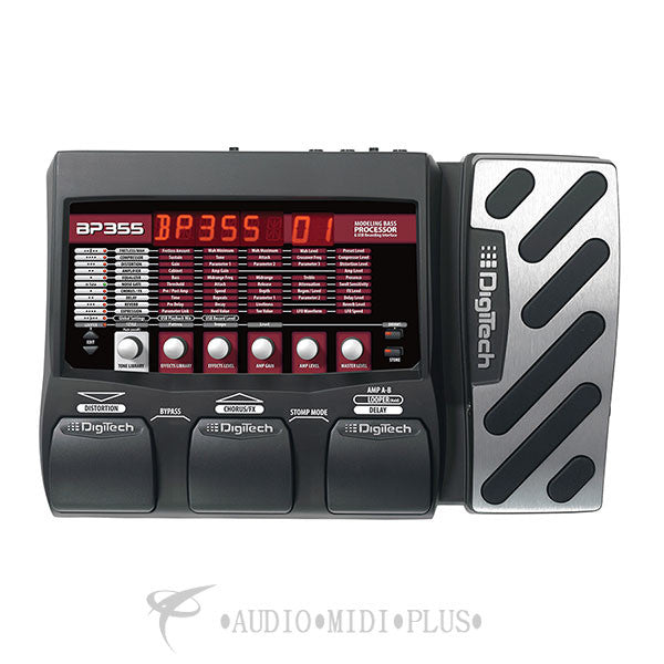 Digitech Bass Multi-Effects And USB Recording Interface - BP355-U - 691991202148