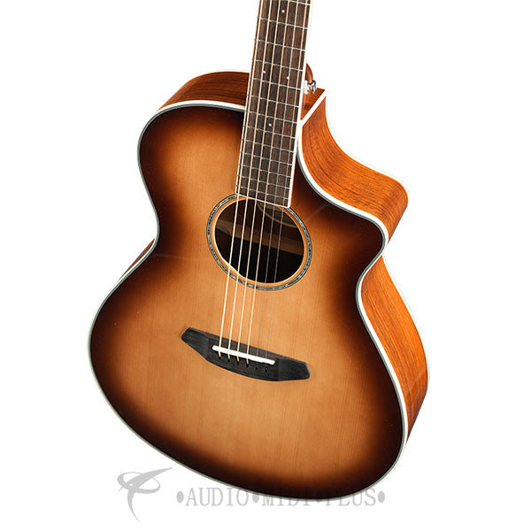 Breedlove Pursuit Exotic Concert CE Sitka Spruce Australian Blackwood Acoustic Electric Guitar Sunburst - PSCN14CESSTB - 875934008114