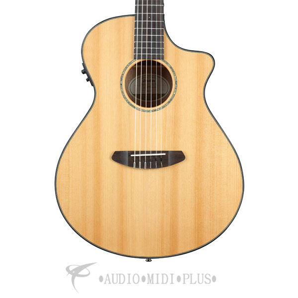 Breedlove Pursuit Concert Nylon CE Rosewood Fretboard 6 String Acoustic Electric Guitar - PSCN01NCERCMA - 875934006165