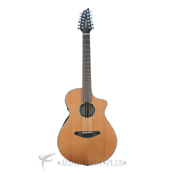Breedlove Solo Ce Red Cedar Rosewood Acoustic Electric Guitar - SLCN01XCERCIR - 875934007483