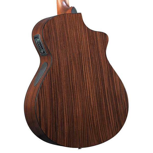 Breedlove Solo Concert CE Red Cedar Rosewood Left Handed Acoustic Electric Guitar - SLCN01LCERCIR - 875934007513