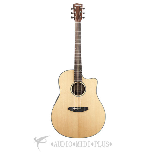 Breedlove Solo Dreadnought CE Sitka Spruce Rosewood Acoustic Electric Guitar - SLDR01CESSIR - 875934008091