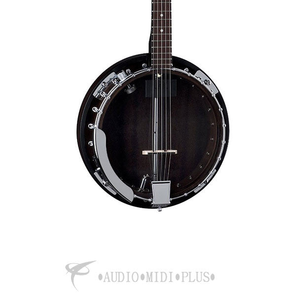 Dean Backwoods 2 Acoustic Electric 5 String Banjo Gloss Natural - BW2E-U