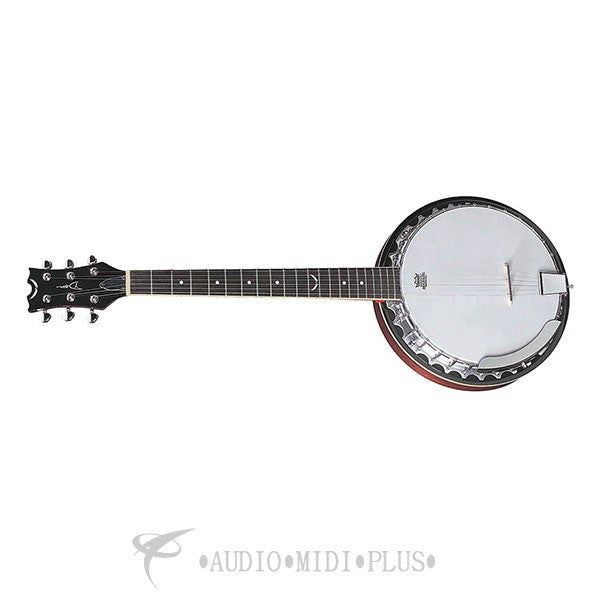 Dean guitar Backwoods 6 Strings Banjo - BW6-U