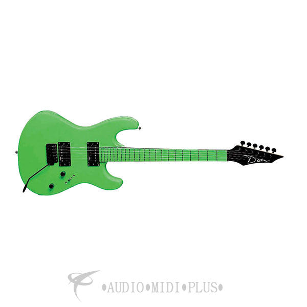 Dean Custom Zone II Floyd Rose 6 Strings Electric Guitar Nuclear Green - CZONENG-U